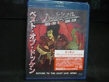 DOKKEN Return To The East Live (2016) JAPAN BLU-RAY Lynch Mob Sweet & Lynch T&N
