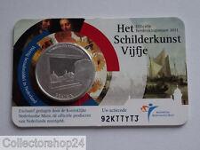 Coincard Netherlands 5 Euro 2011 Het Schilderkust Vijfje Fdc