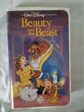 Beauty and the Beast (VHS, 1992) Black Diamond - The Classics Walt Disney!