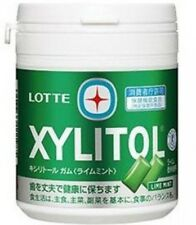 Lotte Xylitol Sugar Free Lime Mint Chewing Gum 61g. Chocolate Food Candy Home