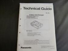 Original Service Manual Panasonic Technical Guide 8-disc CD Changer Vol.40