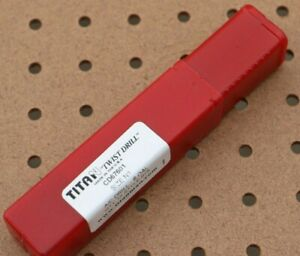 """TITAN CD67601 AIRCRAFT EXTENSION DRILL 6"""" 135°  #1 FLUTE 2-5/8"""" PACK of 12"""