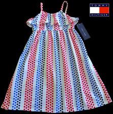 NWT TOMMY HILFIGER Toddler Girls Red/White/Blue Summer Dress(Size 3T) MSRP$59.50