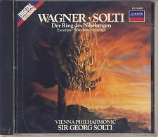 Wagner - Solti, Vienna Philharmonic: Der Ring des Nibelungen (excerpts) Like New