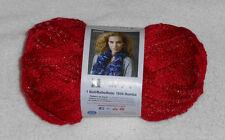 Red Heart Boutique Sashay Yarn (Red #1904) One 3.5 oz. Skein