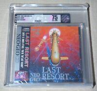 Last Resort Neo Geo CD US English Brand New Factory Sealed VGA Grade