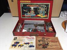 Vintage 1930s Gilbert Erector Set No 8 1/2 - Ferris Wheel