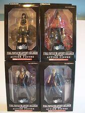 Final Fantasy VII Advent Children Play Arts Action Figures Set of 4 (MIB)