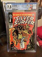 Silver Surfer #3 CGC 7.5!!! Custom Label! 1st App. of Mephisto! Never Pressed!