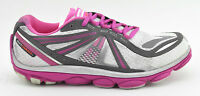 WOMENS BROOKS PURE CADENCE 3 RUNNING SHOES SIZE 7.5 US 38.5 EU WHITE PINK GRAY