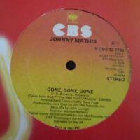 "JOHNNY MATHIS ~ Gone Gone Gone ~ 12"" Single RED VINYL"