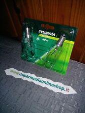BLISTER DA 2 lampadine SYLVANIA CLASSIC FRIGORIFERO / FORNO 40W E14 - FRIGO NEW!