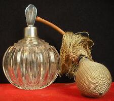 Beau flacon à parfum + vaporisateur en cristal 1900 perfume bottle de Baccarat ?