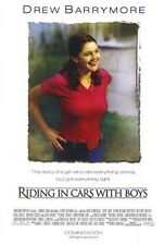 RIDING IN CARS WITH BOYS MOVIE POSTER ~ ORIGINAL 27x40 Drew Barrymore