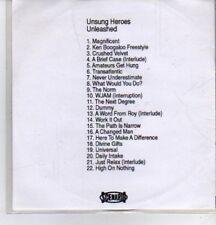 (DE689) Unsung Heroes, Unleashed, 22 tracks various artists - 2000 DJ CD