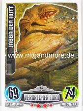 Force Attax Movie Card - Jabba der Hutt #058