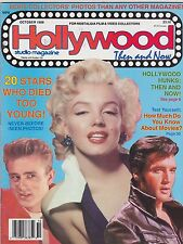 OCT 1988 HOLLYWOOD STUDIO vintage movie magazine MARILYN MONROE - JAMES DEAN