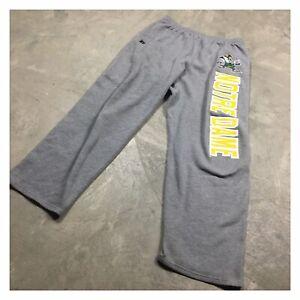 90s VTG NOTRE DAME FIGHTING IRISH RUSSELL ATHLETIC sweatpants L baggy big logo