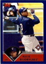 A2618- 2003 Topps Baseball Card #s 1-258 +Rookies -You Pick- 10+ FREE US SHIP