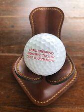 Logo Golf Ball Craig Crespino Memorial Trojan Golf Tournament Kansas