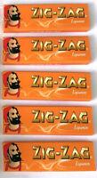 ZIG ZAG LIQUORICE PAPERS 5 10 25 50