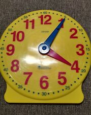 Learning Resources Big Time Student Clock - Gear function - Teach Home or School