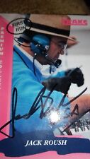 JACK ROUSH - Authentic Hand Signed Autographed first run 1993 traks