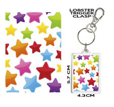 STARS GIFT KEYRING. Can Be Personalised. STARS Mug and coaster also available