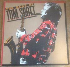 TOM SCOTT the best of tom scott 1980 CBS STEREO VINYL JAZZ FUSION LP