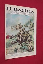 rivista a fumetti IL BALILLA Supplemento Popolo d'Italia ANNO XV N.24 (1937)