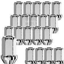 Lot de 20 M12 x 1.5 Hexagonal 19mm 41mm Longue écrous de roue alliage Anses