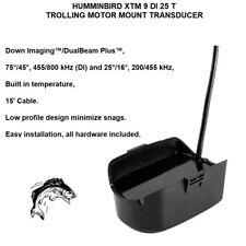 HUMMINBIRD XTM 9 DI 25 T TROLLING MOTOR MOUNT TRANSDUCER Down Imaging™/DualBeam