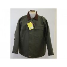 Dickies due toni Giacca Softshell Impermeabile Cappotto in pile lavoro Oliva