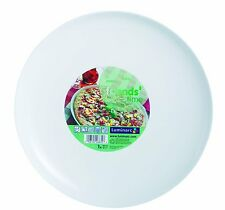 LUMINARC Friends Time Round Pizza Plate, Large, White, 32 cm
