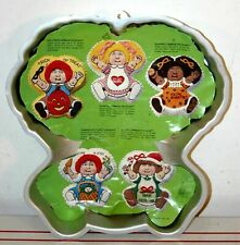 VINTAGE  WILTON CABBAGE PATCH KIDS CAKE PAN 1984 INSERT