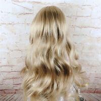 1/3 1/4 1/6 1/8 Bjd Doll Wig Girl Long Wavy Curly Hair Light Brown