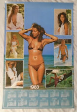 Calendar Girls 1982 Poster Topless Bare Breasts Pace Minerva Scotland New