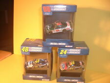 Lot 3 American Greetings Nascar Race Car Ornaments Gordon, Johnson & Earnhardt