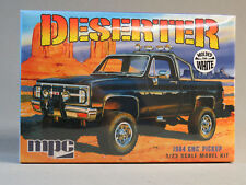 MPC 1984 DESERTER GMC PICKUP TRUCK MODEL CAR KIT plastic 1:25 Scale 4X4 847 NEW