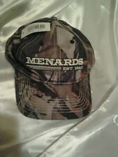 Menards  Camo Camoflauge  baseball Cap Hat Mens