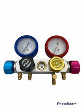 Bacoeng Pro 4 Way Ac Diagnostic Manifold Gauge For R134a R410a R22 Gauge Only