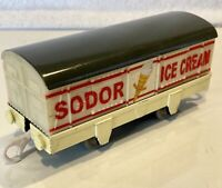 2006 SODOR ICE CREAM Box Cargo Car  - Thomas & Friends Trackmaster Train - VGUC