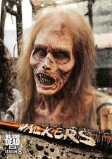 Walking Dead Season 8 Part 1 WALKERS Trading Card Insert W-10