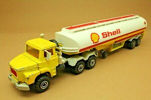 """Camion SCANIA semi-citerne """"Shell"""" - MAJORETTE - Made in France - échelle 1:60"""