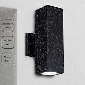 Modern IP65 LED Wall Lights Indoor / Outdoor Garden/Patio Down Wall Lamp