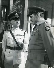 "RICHARD ATTENBOROUGH JACK HAWKINS ""LES CANONS DE BATASI"" PHOTO CINEMA CM"