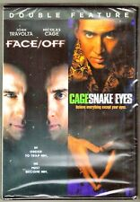 Face/OFF & Snake Eyes 2-Movie DVD Double Feature BRAND NEW