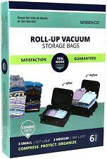 6 Pack Vacuum seal, Space Saver Storage Bags - Variety (Small, Medium)