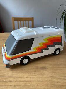 Micro Machines Super Van City Playset with 18 Cars 1991 Galoob