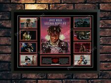More details for juice wrld signed limited edition  autographed music a4 photo print
